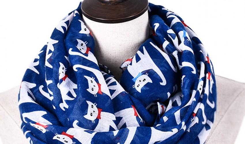 Секреты популярности шарфов-хомутов