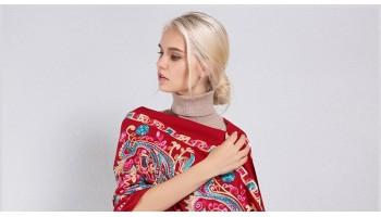 Какие шарфы сейчас в моде. Стильные образы 2020 -2021 года и внесезонная классика