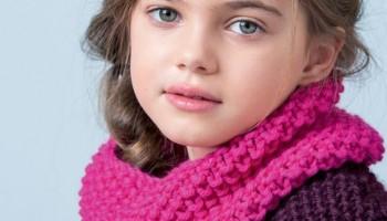 Может ли вязаный шарф стать любимым аксессуаром ребенка?