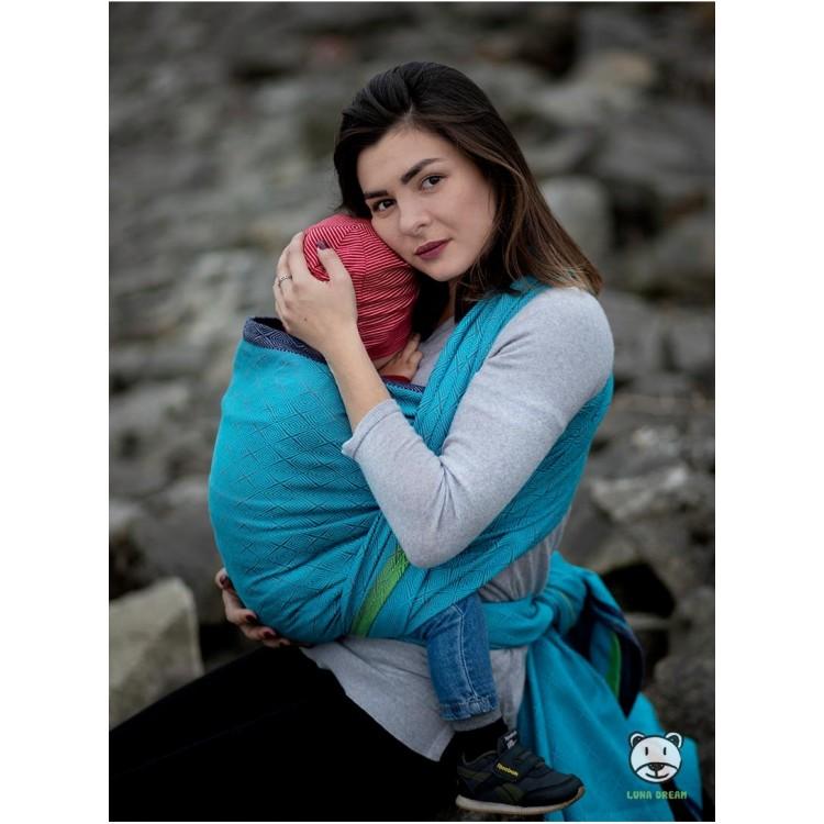 Слінг-шарф блакитний