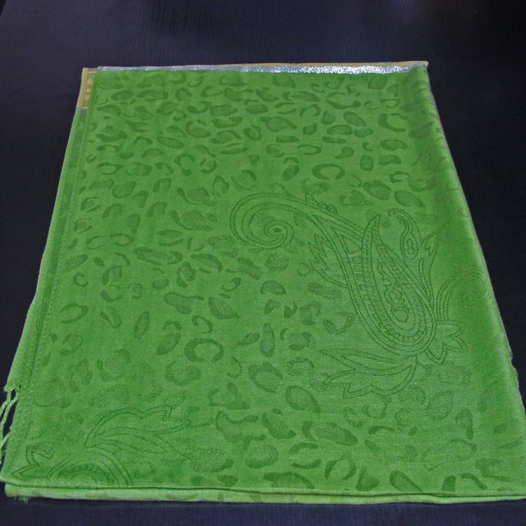 Шарф палантин восточный green