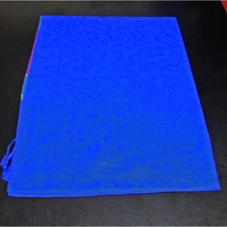 Шарф палантин восточный blue