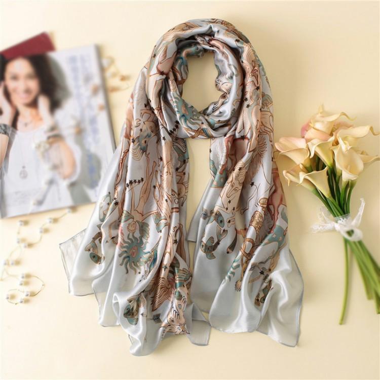 Шовковий шарф міфічний