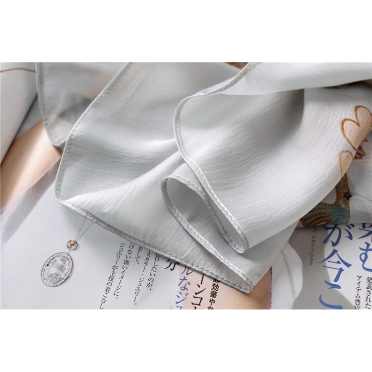 Шелковый шарф мифичный