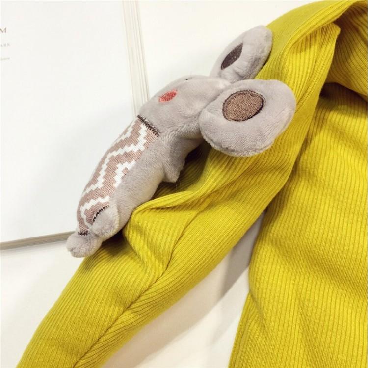 Детский шарф веселый мышонок