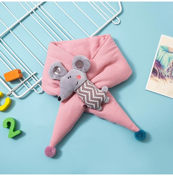 Дитячий шарф з мишеням