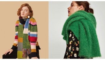 Вязаный шарф: теплое украшение для суровой зимы
