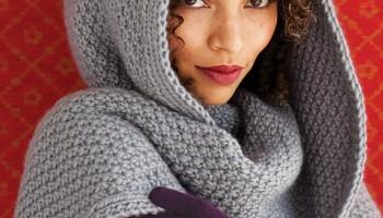 Жіночий в'язаний шарф - аксесуар, який завжди в тренді!