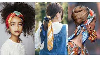 Шелковый шарф - яркий акцент вашего безупречного образа